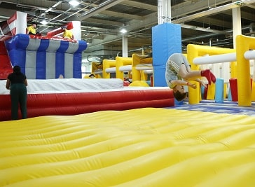 Funzy Inflatable Theme Park in Bradford